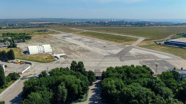 Former Saratov-Tsentralny (Saratov-Central) Airport. Image Courtesy of Strelka KB