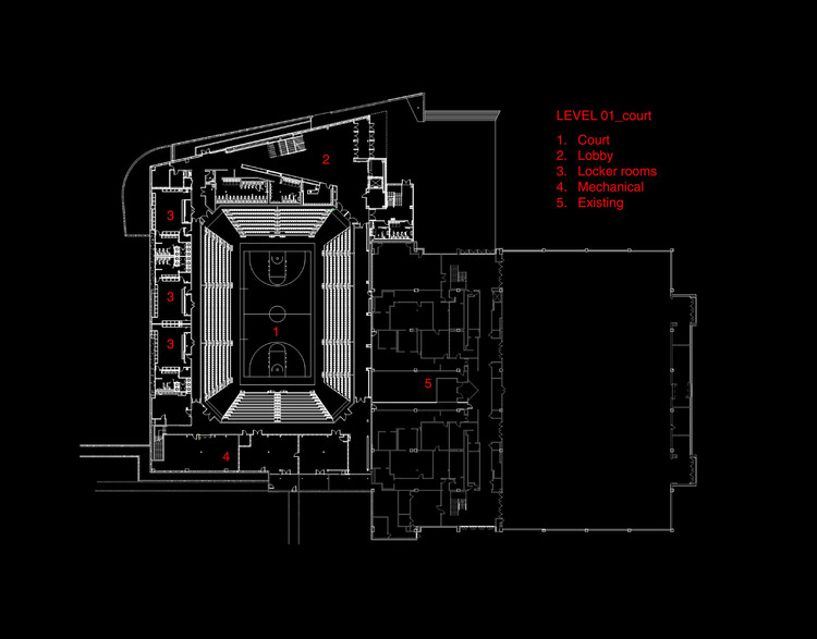 Plan 01 - Court