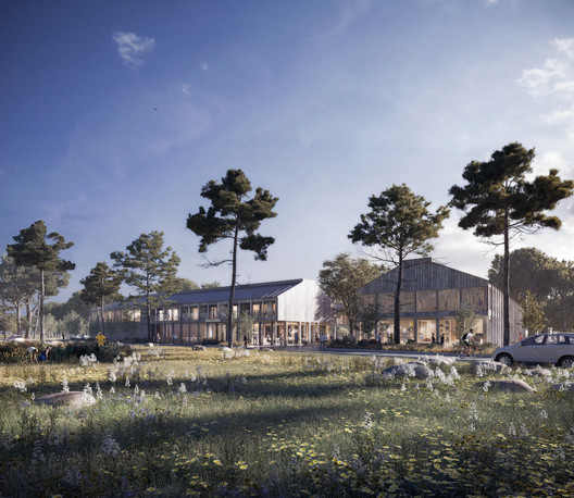 WTA Imagines Low Carbon, Low Impact Headquarters for Housing Association in Sweden