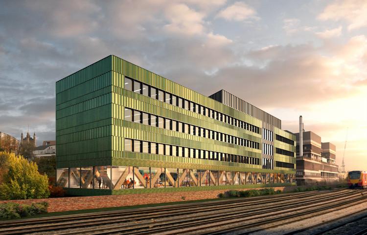 """Edifício """"carbono zero"""" do FCBStudios é aprovado pelas autoridades de planejamento de Londres , Cortesia de FCBStudios"""