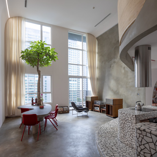 'Mài' Apartment / Whale Design Lab