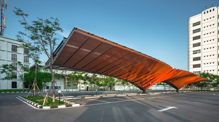 Power Wing Parking / Openbox Architects + Openbox Group, © Panoramic Studio
