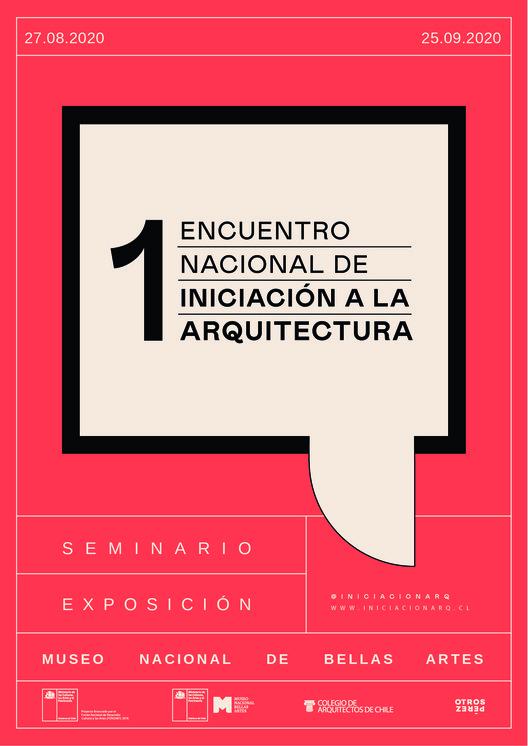 Primer Encuentro Nacional de Iniciación a la Arquitectura, Identidad gráfica diseñada por 'Otros Perez'