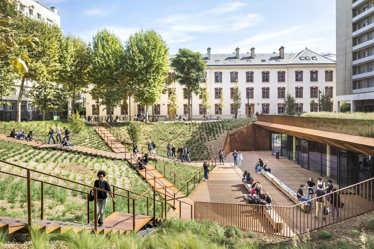 Arquitetura educacional: 26 edifícios universitários ao redor do mundo, Universidade de Direito de Paris I Modernização do quartel de Lourcine / Chartier Dalix Architectes. Imagem: © Sergio Grazia