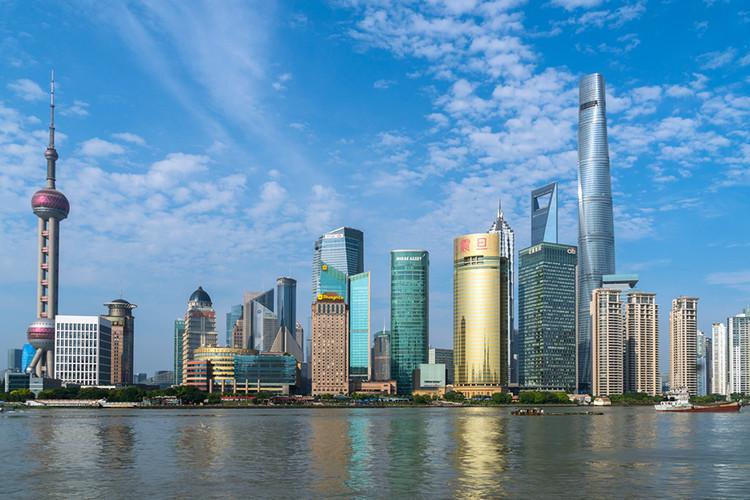 A urbanização de Xangai: vitrine de uma nova China, Xangai, China. Imagem © Anthony Ling