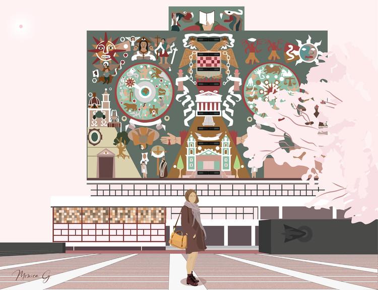 Sobre las narrativas personales en la ilustración arquitectónica, © Vista en Planta