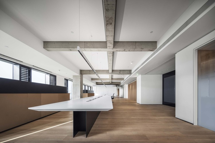 LINGDI Office / WJ Design, The office. Image © Yutao Xue