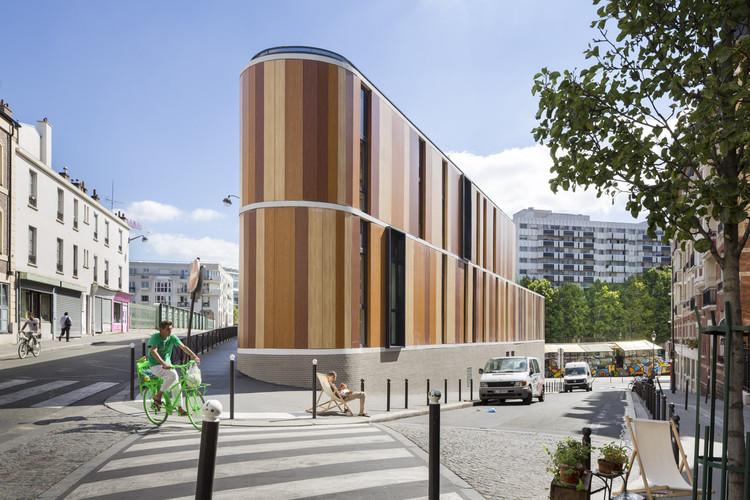 ¿Por qué los paneles HPL son efectivos ante incendios?, Paris- Quai de l'Oise / Agence VEA – Architects. Image © Sergio Grazia