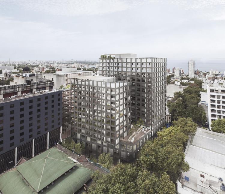 Mathías Klotz, Hauser y Edgardo Minond diseñan complejo de usos mixtos de gran escala para Uruguay, Cortesía de Hauser Oficina de arquitectura