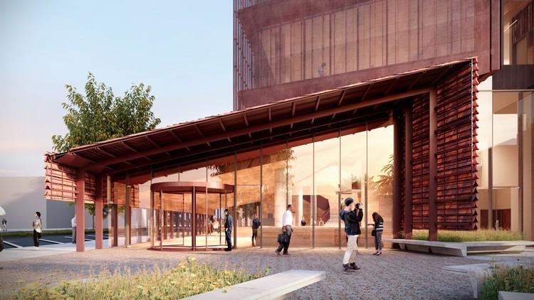 Bendigo Law Courts Designed as Iconic Landmark in Australia, Courtesy of John Wardle Architects