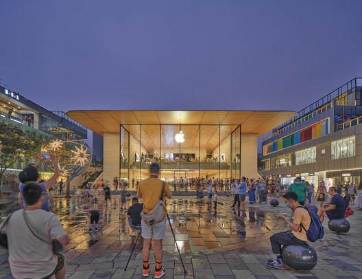 Apple Store Sanlitun / Foster + Partners