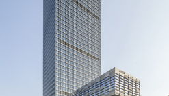 Longgang Chuangtou Headquarters Tower / URBANUS