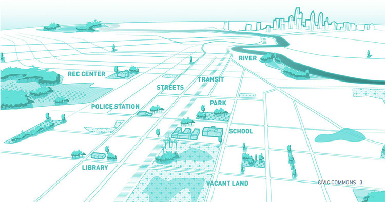excerpt from Reimagining The Civic Commons,. Image © Studio Gang
