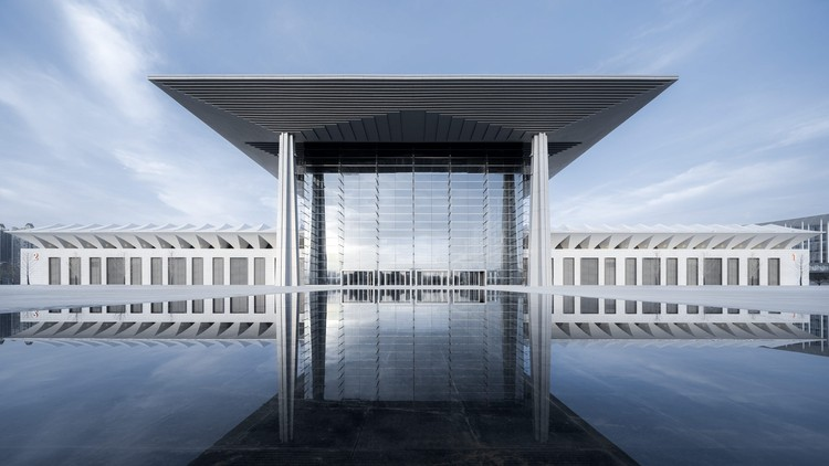 Xi'an Exhibition Center / gmp Architects, © CreatAR Images