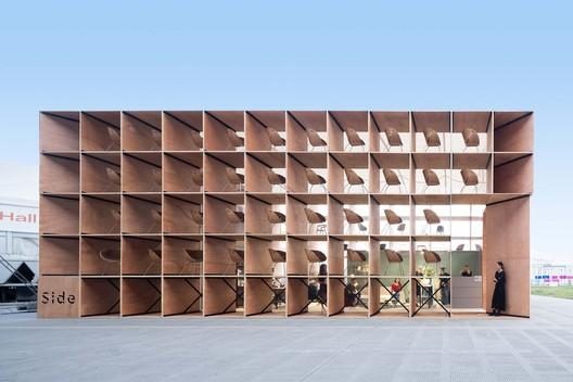 pavilion exterior facade. Image © Feng Shao