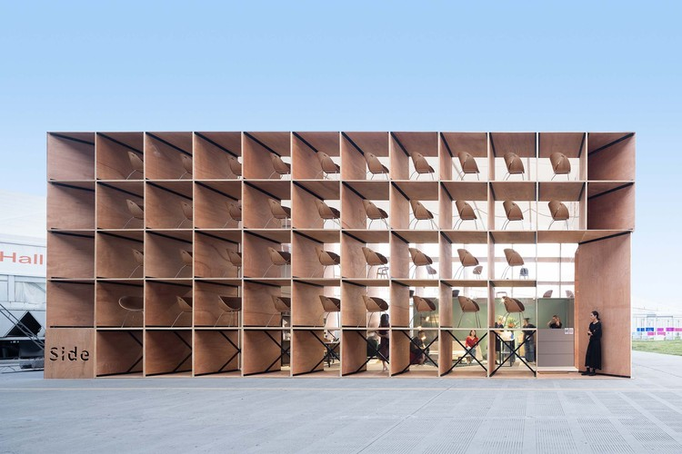 Furniture Pavilion S and its Afterlife / Rooi Design and Research, pavilion exterior facade. Image © Feng Shao