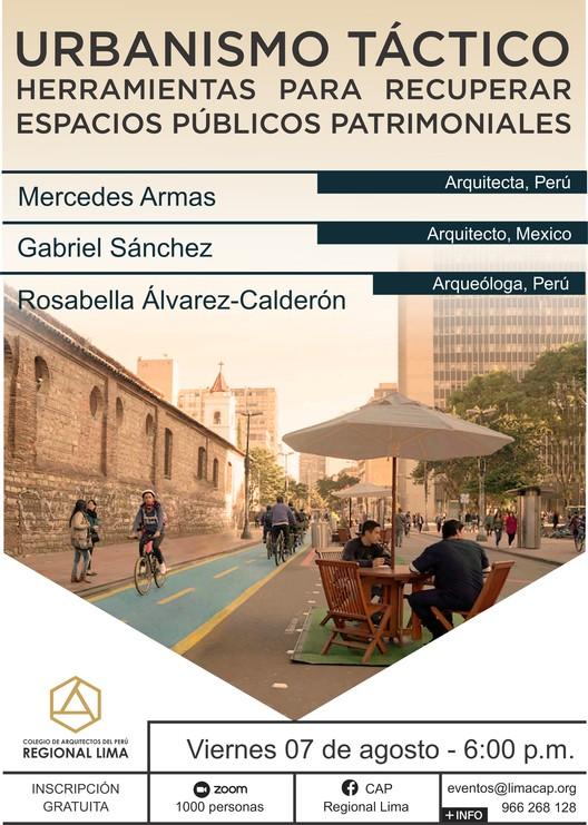 CAP Regional Lima: Conferencia Urbanismo Táctico, CAP Regional Lima