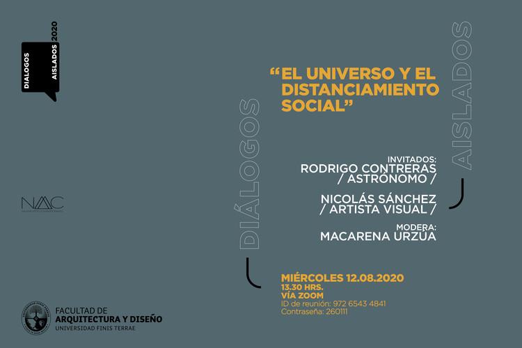 """Diálogos aislados: """"El universo y el distanciamiento social"""""""