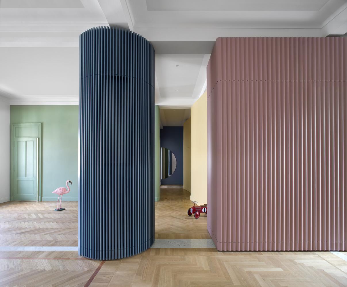 Tendencias en Diseño de Interiores 2020: Biofilia, Chubby y Fluidez,Theater House / Bodà Architetti © Barbara Corsico Photograpy
