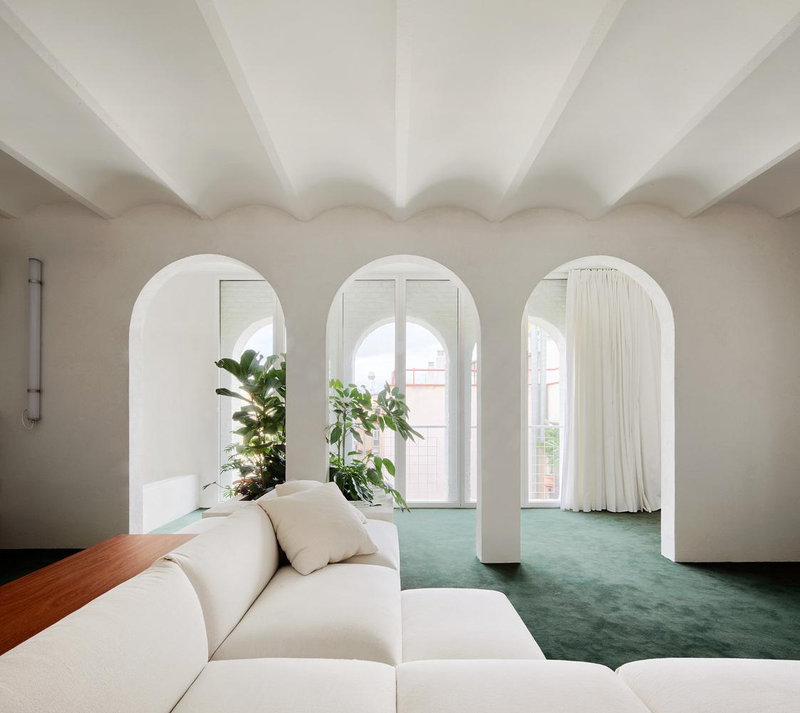 Tendencias en Diseño de Interiores 2020: Biofilia, Chubby y Fluidez,PENTHOUSE / P-M-A-A © José Hevia