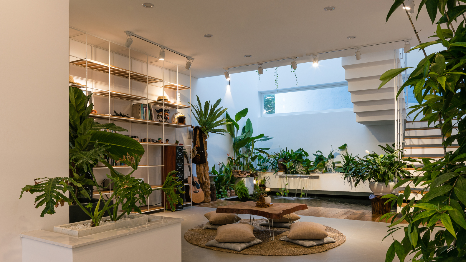 Tendencias en Diseño de Interiores 2020: Biofilia, Chubby y Fluidez,Q House / Q concept © Quang Dam