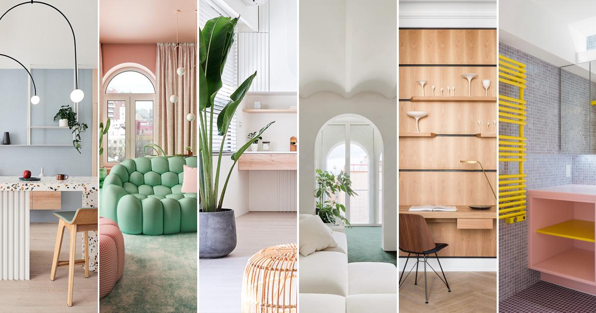 Tendencias en Diseño de Interiores 2020: Biofilia, Chubby y Fluidez
