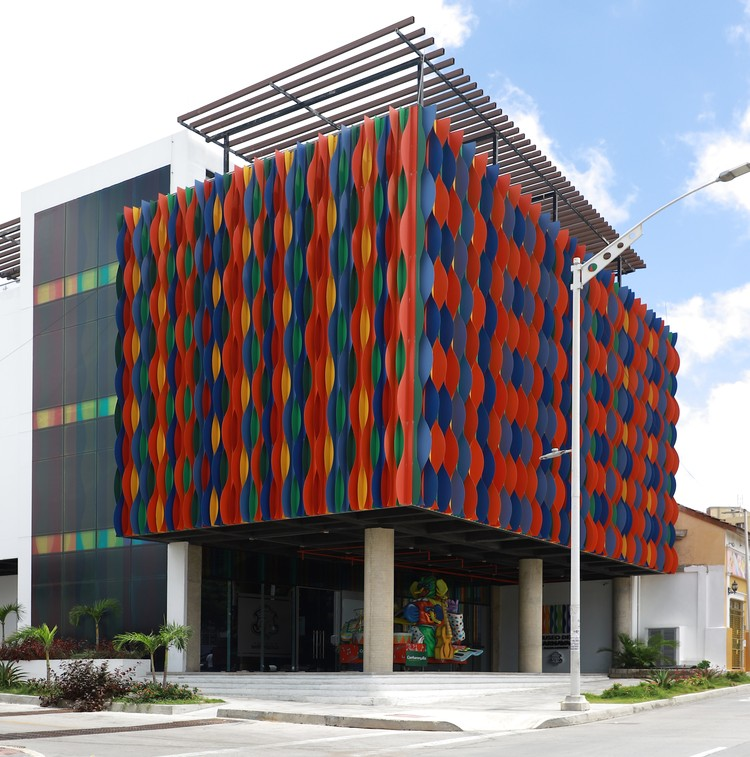 Carnaval de Barranquilla Museum / KGR Proyectos, Courtesy of The Carnival Museum