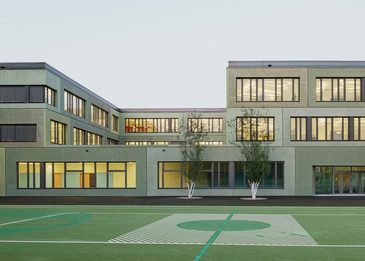 European School Munich  / léonwohlhage Gesellschaft von Architekten mbH, © Philipp Obkircher