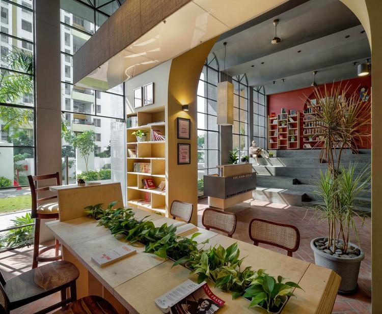 Sala de libros / Studio Infinity, © Hemant Patil