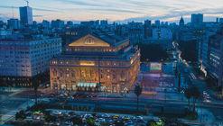 Edificios emblemáticos de Buenos Aires ofrecen visitas online