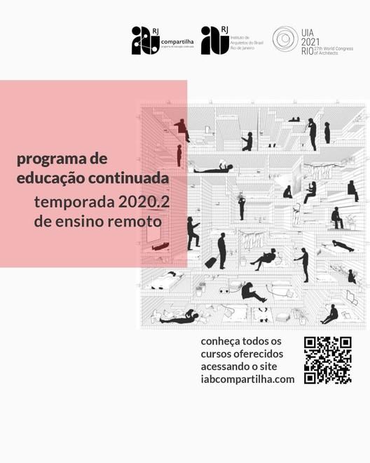 IAB Compartilha lança nova temporada de cursos para 2020, Cartaz divulgação, arte: Alexsander Pereira