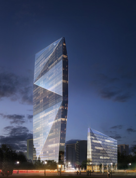 SPEECH Proposes New Buildings at the World Trade Center in Moscow, Russia, © SPEECH