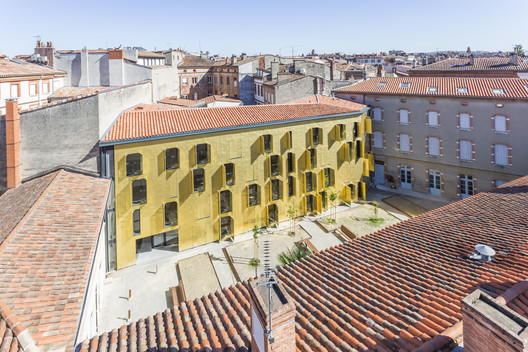 Rehabilitation of an EHPAA of 18 Apartments Toulouse / Letellier Architectes