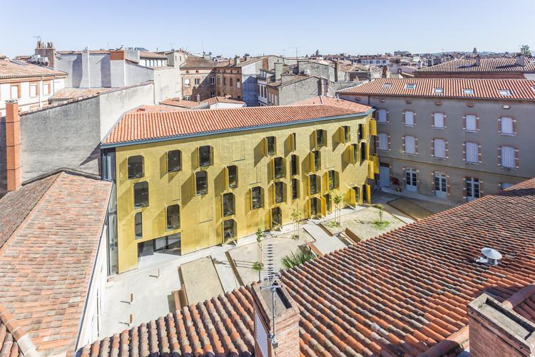 Reabilitação de um edifício com 18 apartamentos em Toulouse / Letellier Architectes, © Les Yeux Carrés