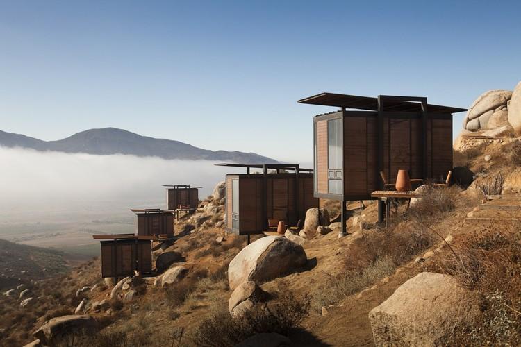 Arquitectura en México: proyectos para entender el territorio de Baja California Norte, Hotel Encuentro Guadalupe / graciastudio. Image © Luis García