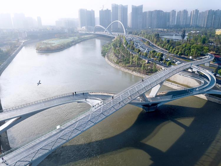 Ponte Wuchazi / SCSJ, JDTM, Tom Wünschmann, Achim Kaufer, Wei Cai, Philipp Buschmeyer, © Arch-Exist