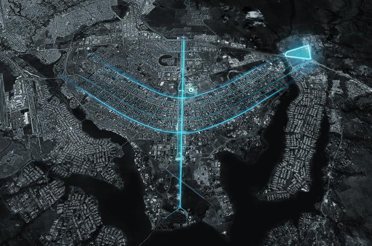 Un proyecto de 1000000 m2 para expandir el histórico plan urbano de Brasilia, Cortesía de Carlo Ratti Associati