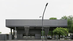 Saxony State Exhibition 2020 Entrance Pavilion / AFF architekten + Georgi Architektur + Ilja Oelschlägel Produkt Design
