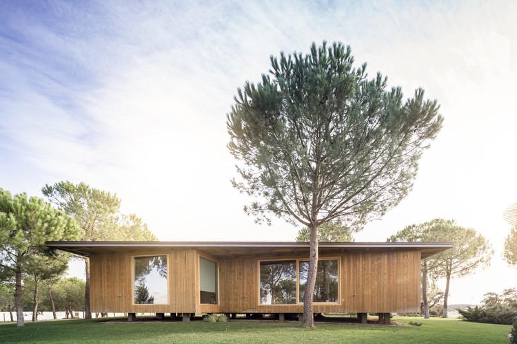 Barrocas Pavilion / Carlos Castanheira, © Fernando Guerra FG+SG