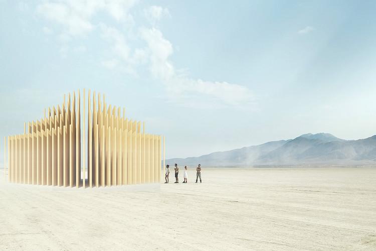 Mausoleum of Revelations. Image Courtesy of AI Studio