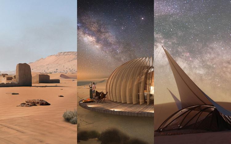 Italia, México y Líbano entre los ganadores del concurso Cabañas Eco Turísticas en Abu Dhabi