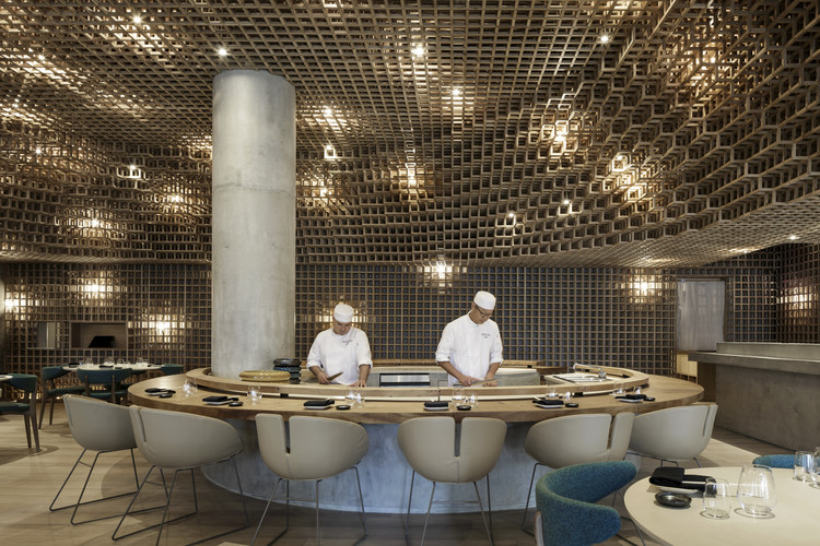 Restaurante Kosushi Miami / Studio Arthur Casas, © Filippo Bamberghi