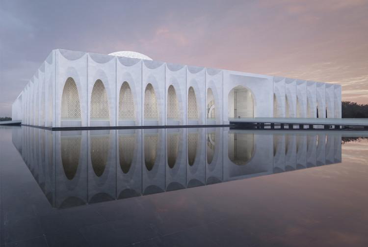 Top 20 vencedores do A' Design Award , Da Chang Muslim Cultural Center / Hejingtang Studio. Image Courtesy of A' Design Awards