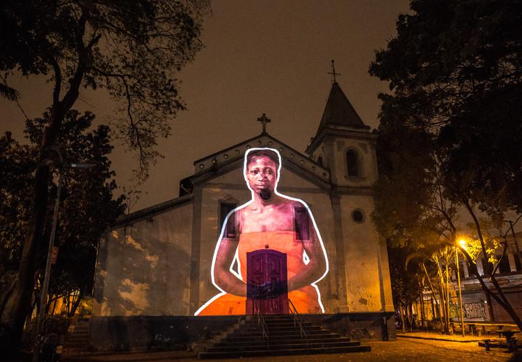 Vozes Contra o Racismo: outras narrativas sobre o território paulista, Igreja Rosário dos Homens Pretos da Penha © Coletivo Coletores