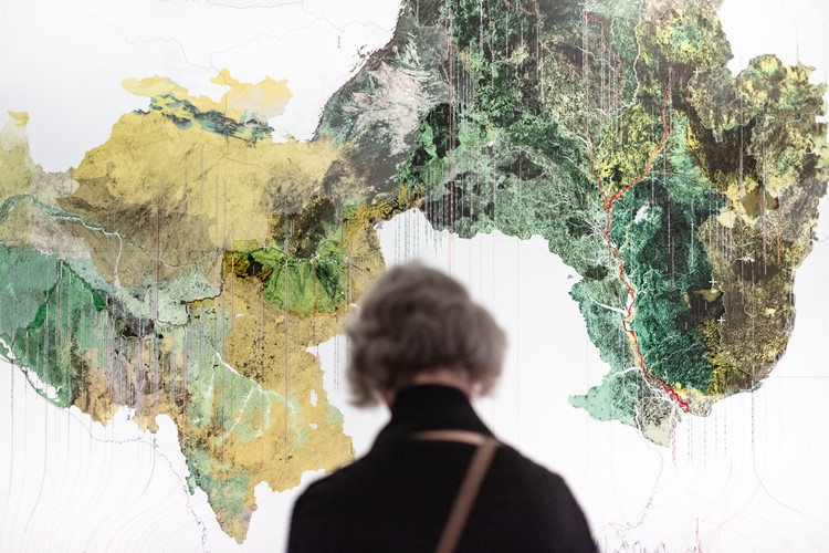 Brazilian Maps from the Venice Biennale 2018 On Sale To Fight Coronavirus in the Amazon, Maps exhibited in New York. Photo © On White Wall