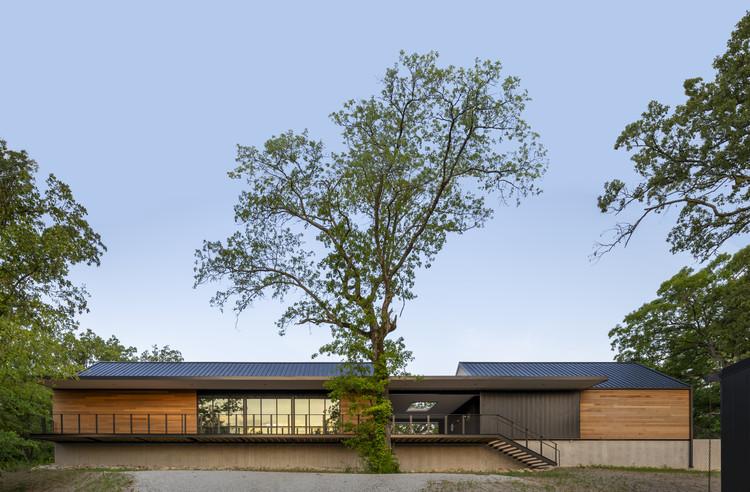 Centro Educativo Ozarks de la Universidad Estatal de Missouri / BNIM, © Kelly Callewaert
