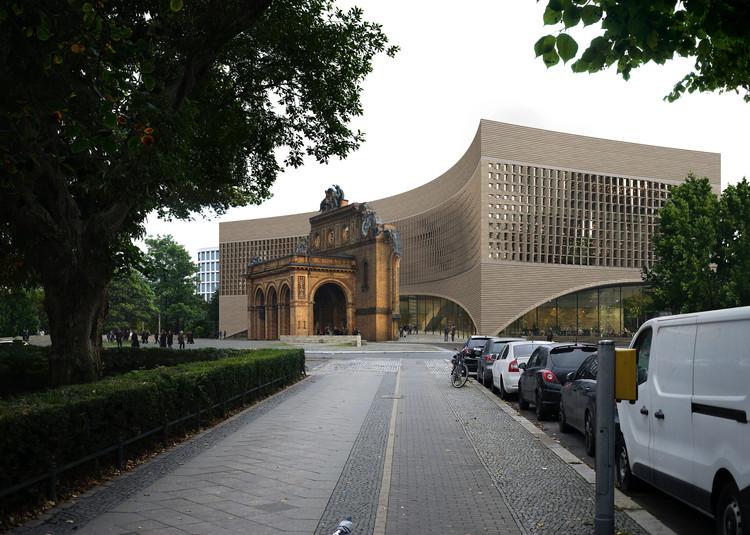 Dorte Mandrup vence concurso internacional para o novo Exilmuseum em Berlim, Cortesia de MIR