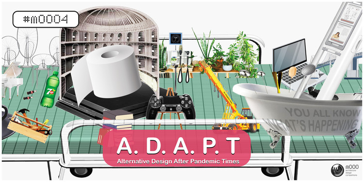 #mOOO4 ADAPT: Alternative Design After Pandemic Times, Cross-pollinating public health initiatives with physical infrastructures