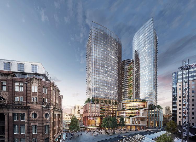 SOM and Fender Katsalidis to Design High-Tech Towers in Sydney's Central Business District, Courtesy of SOM | Fender Katsalidis