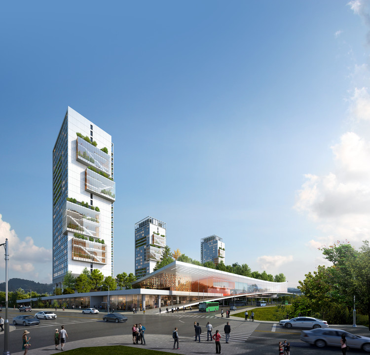 Seoul Compact City International Design Competition Releases Results of its 3 Projects, Gangil 1st position. Image Courtesy of M.A. Architects & Partners